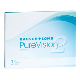 Bausch&Lomb PureVision 2 (3 леќи во кутија) HD