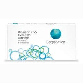 CooperVision Biomedics 55 Evolution asphere 6 леќи/кутија