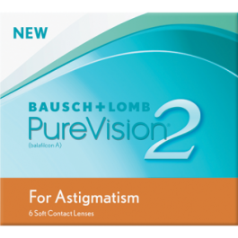 Bausch+Lomb PureVision 2 (6 пак) за астигматизам